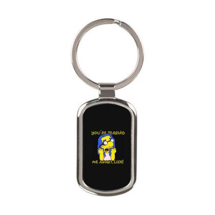 Milhouse Wiseau Rectangle Keychain Designed By Colorfull Art