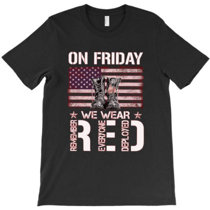 On Friday We Wear Red 26 9 T-shirt Designed By Schulz-12