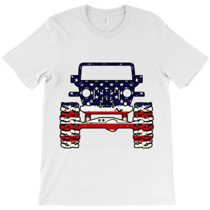 American Jeep T-shirt Designed By Schulz-12