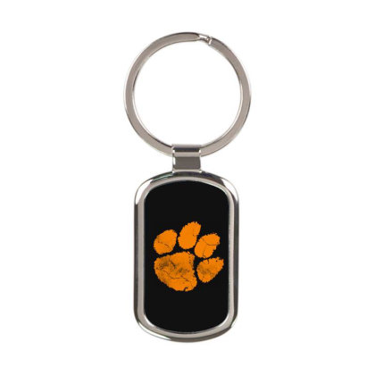 Clemson Tigers Rectangle Keychain Designed By Kimochi