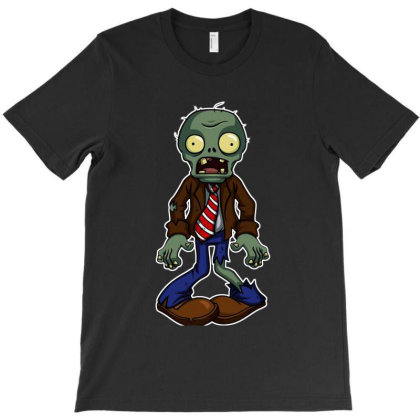 Plants Vs Zombies Scream T-shirt Designed By Colorfull Art