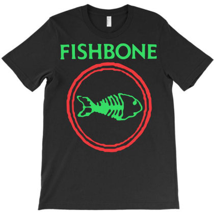Ishbone Retro Punk Rock And Roll Band Fish T-shirt Designed By Schulz-12