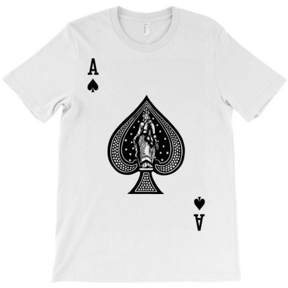 The Ace Of Black T-shirt Designed By Danz Blackbirdz