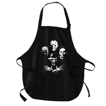 Horror Icons Medium-length Apron Designed By Schulz-12