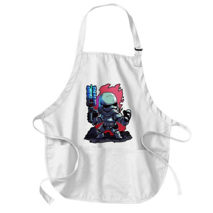 Awesome Movies Medium-length Apron Designed By Colorfull Art
