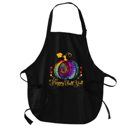 Hello Fall Gnome Thankful Funny Medium-length Apron Designed By Mrt90