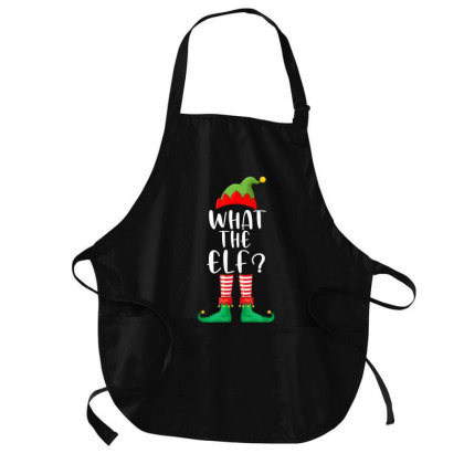 What The Elf Matching Family Group Christmas Medium-length Apron Designed By Kakashop