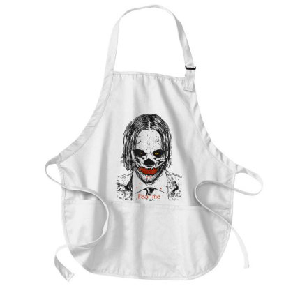 Fear Me: Hallowee Scary Medium-length Apron Designed By Mrt90