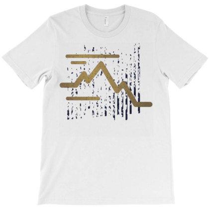 Stroke Mountain T-shirt Designed By Panduart