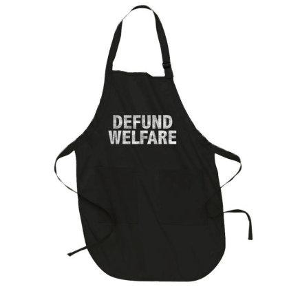 Defund Welfare Full-length Apron Designed By Koopshawneen