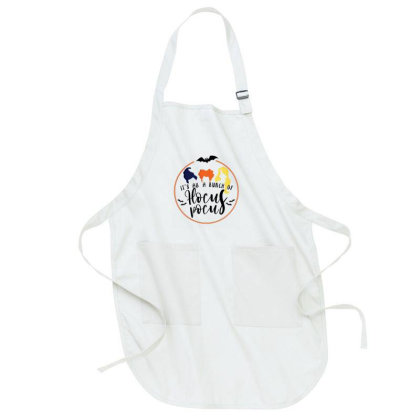 It's All A Bunch Of Hocus Pocus For Light Full-length Apron Designed By Akin