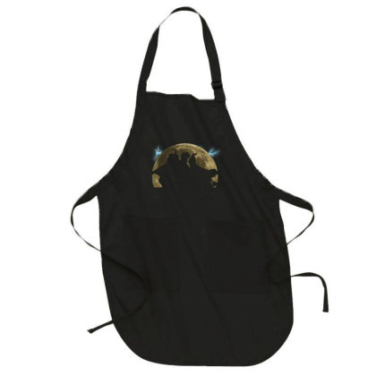 Ssanderson Sisters Moon Full-length Apron Designed By Akin