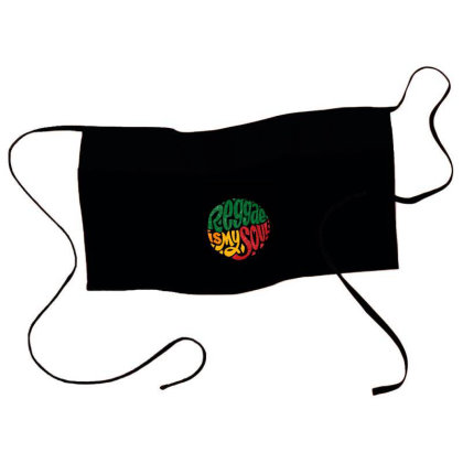 Reggae Is My Soul Waist Apron Designed By Chiks