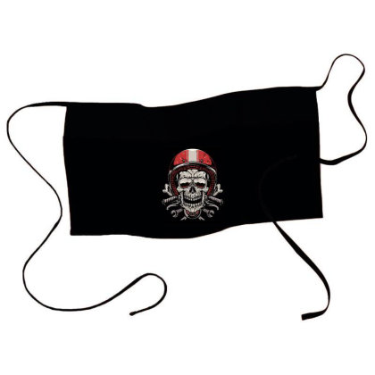 Skull Biker Waist Apron Designed By Quilimo