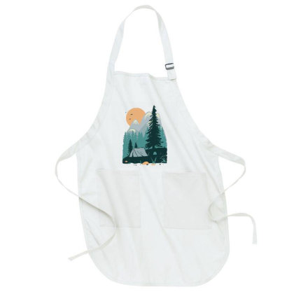 Back To Nature Full-length Apron Designed By Quilimo