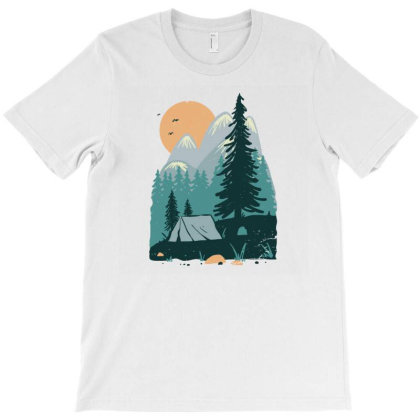 Back To Nature T-shirt Designed By Quilimo
