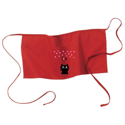Kitty Love Waist Apron Designed By Chiks