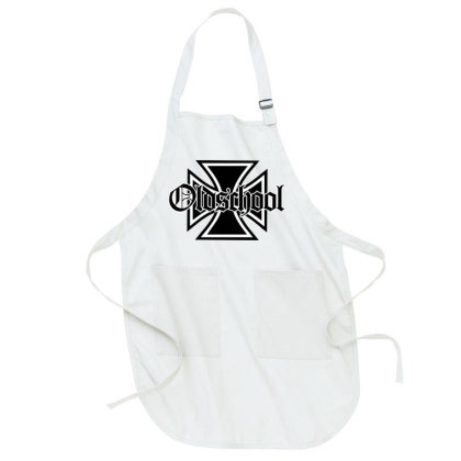 Old School Club Full-length Apron Designed By Chiks