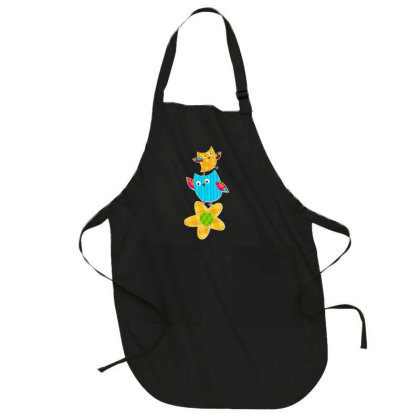 Baby Owl Full-length Apron Designed By Chiks