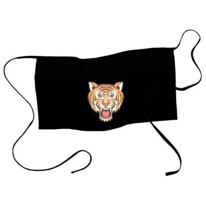 Tiger Head Waist Apron Designed By Panduart
