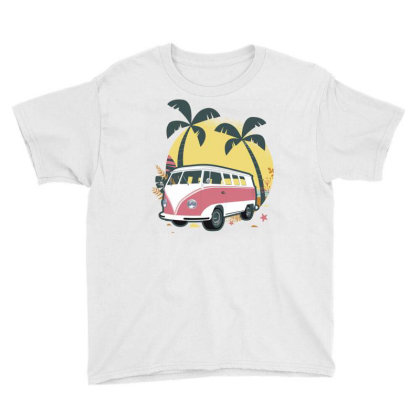 Travel 1 Youth Tee Designed By Panduart