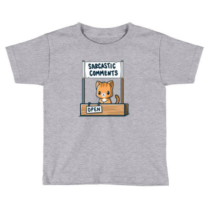 Sarcasm Stand Toddler T-shirt Designed By Albert846