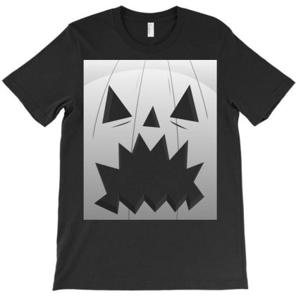 Scary Pumpkin Costume - Halloween Gift Funny T-shirt Designed By Diogo Calheiros