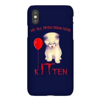 We All Meow Down Here Kitten Clown Iphonex Case Designed By Mrt90