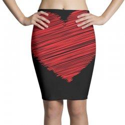 Heart Pencil Skirts | Artistshot