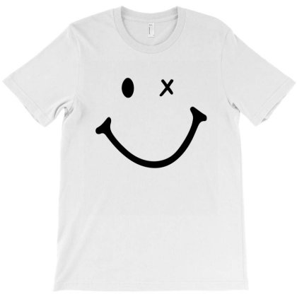 Smiling Face T-shirt Designed By Alparslan Acar