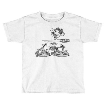 Deejay Vintage Toddler T-shirt Designed By Zig Street