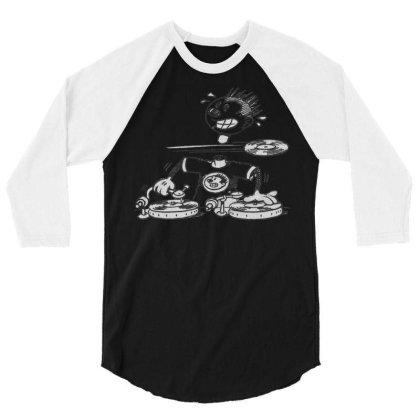 Deejay Vintage 3/4 Sleeve Shirt Designed By Zig Street