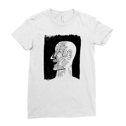 Ancient Man Ladies Fitted T-shirt Designed By Beeyou