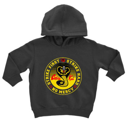 Cobra Kai Toddler Hoodie Designed By Top One
