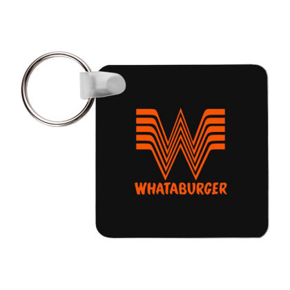 Whataburger Frp Square Keychain Designed By Hot Maker