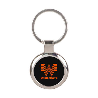 Whataburger Round Keychain Designed By Hot Maker