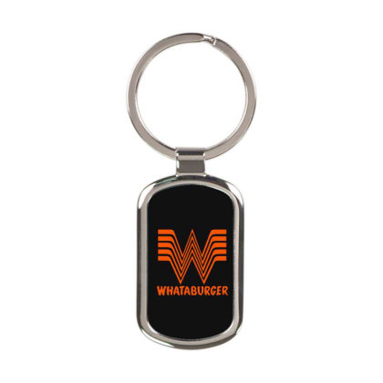Whataburger Rectangle Keychain Designed By Hot Maker
