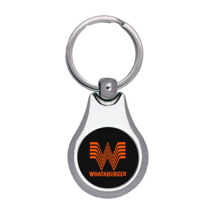 Whataburger Silver Pear Keychain Designed By Hot Maker