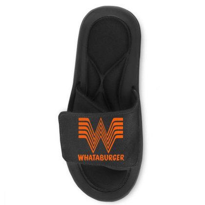 Whataburger Slide Sandal Designed By Hot Maker