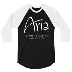 aria resort and casino las vegas 3/4 Sleeve Shirt   Artistshot