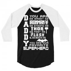DADDY - Fathers Day - Gift for Dad_(SW) 3/4 Sleeve Shirt | Artistshot
