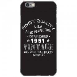 vintage 1951 iPhone 6/6s Case | Artistshot