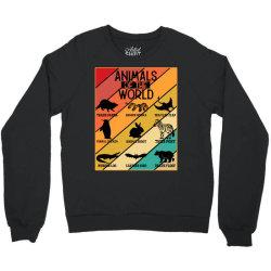 animals of the world Crewneck Sweatshirt | Artistshot