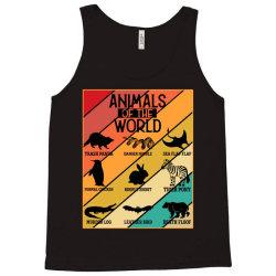 animals of the world Tank Top | Artistshot