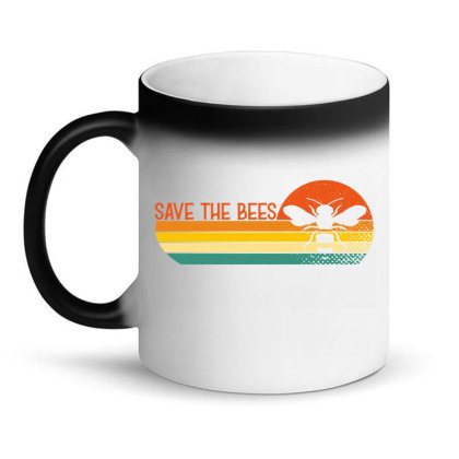 Save The Bees Magic Mug Designed By Badaudesign