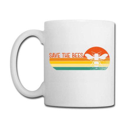Save The Bees Coffee Mug Designed By Badaudesign