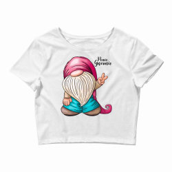 peace gnomie Crop Top | Artistshot