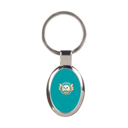 Team Rowlet Oval Keychain Designed By Rardesign