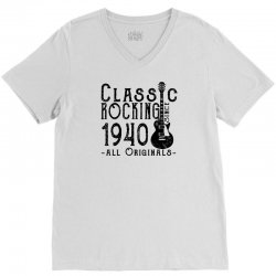 rocking since 1940 V-Neck Tee | Artistshot