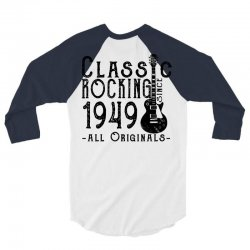 rocking since 1949 3/4 Sleeve Shirt | Artistshot